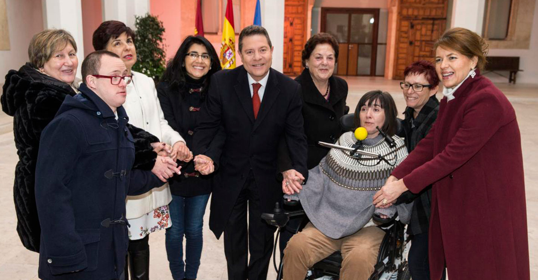 """García-Page considera que la mayoría de los castellano-manchegos """"entienden y apoyan"""" su defensa de España, de la Constitución y de la igualdad de oportunidades"""