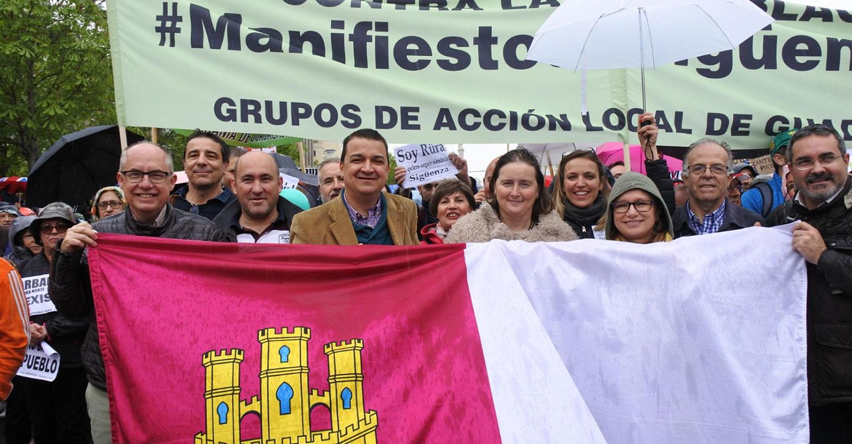 RECAMDER se sumó a la manifestación de la 'España vaciada'