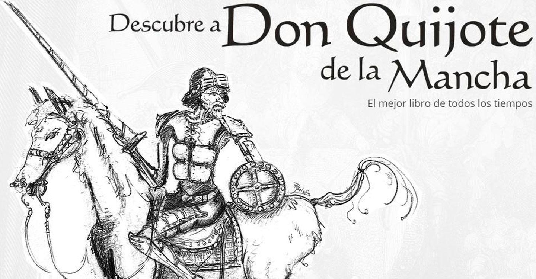 Descubre a don Quijote de la Mancha