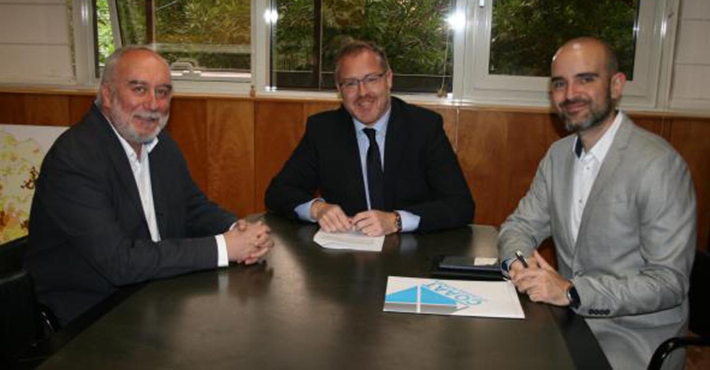 El Gobierno regional trabaja con los Colegios Oficiales de Arquitectos y de Aparejadores de Castilla-La Mancha en diversas líneas de colaboración en materia de vivienda y urbanismo