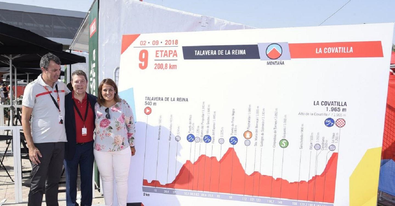 El Gobierno regional destaca que este domingo Talavera es el epicentro nacional e internacional del mundo deportivo con la salida de La Vuelta Ciclista a España