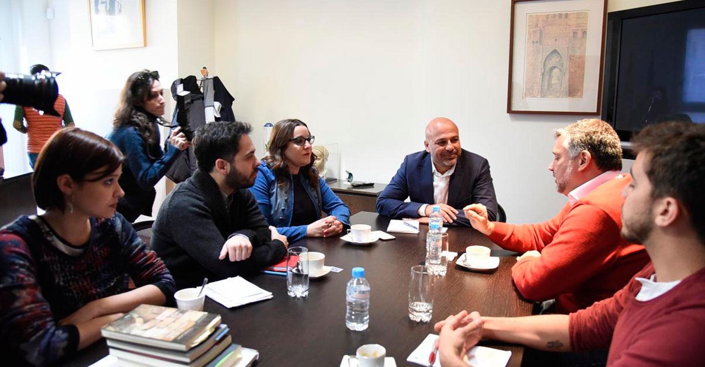 José García Molina y Paulo Pimenta acuerdan la creación de una Red Internacional de Parlamentarios Progresistas