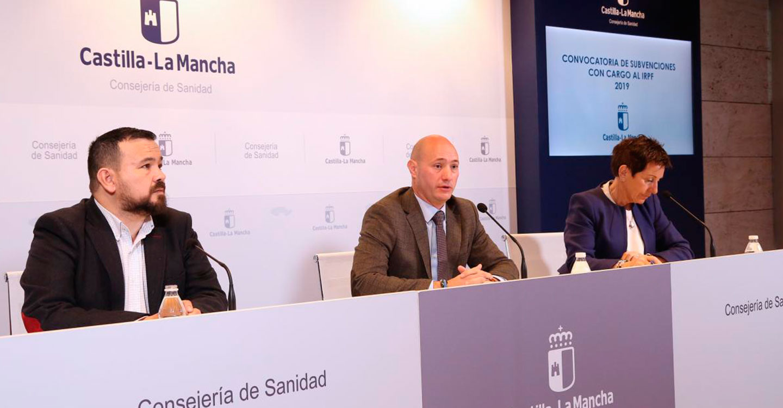 El Gobierno de Castilla-La Mancha inicia hoy los pagos de la convocatoria de subvenciones de IRPF
