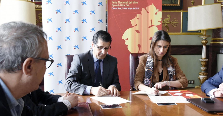 CaixaBank patrocinará las actividades de FENAVIN incluidas en el área Promoción Exterior y Economía