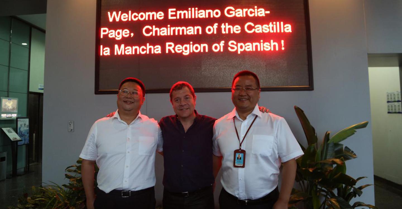 García-Page anima a las principales empresas de China a desarrollar proyectos e inversiones en Castilla-La Mancha