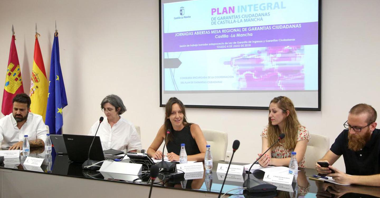 La consejera Inmaculada Herranz espera presentar en noviembre la futura Ley de Garantía de Ingresos y Garantías Ciudadanas en las Cortes regionales