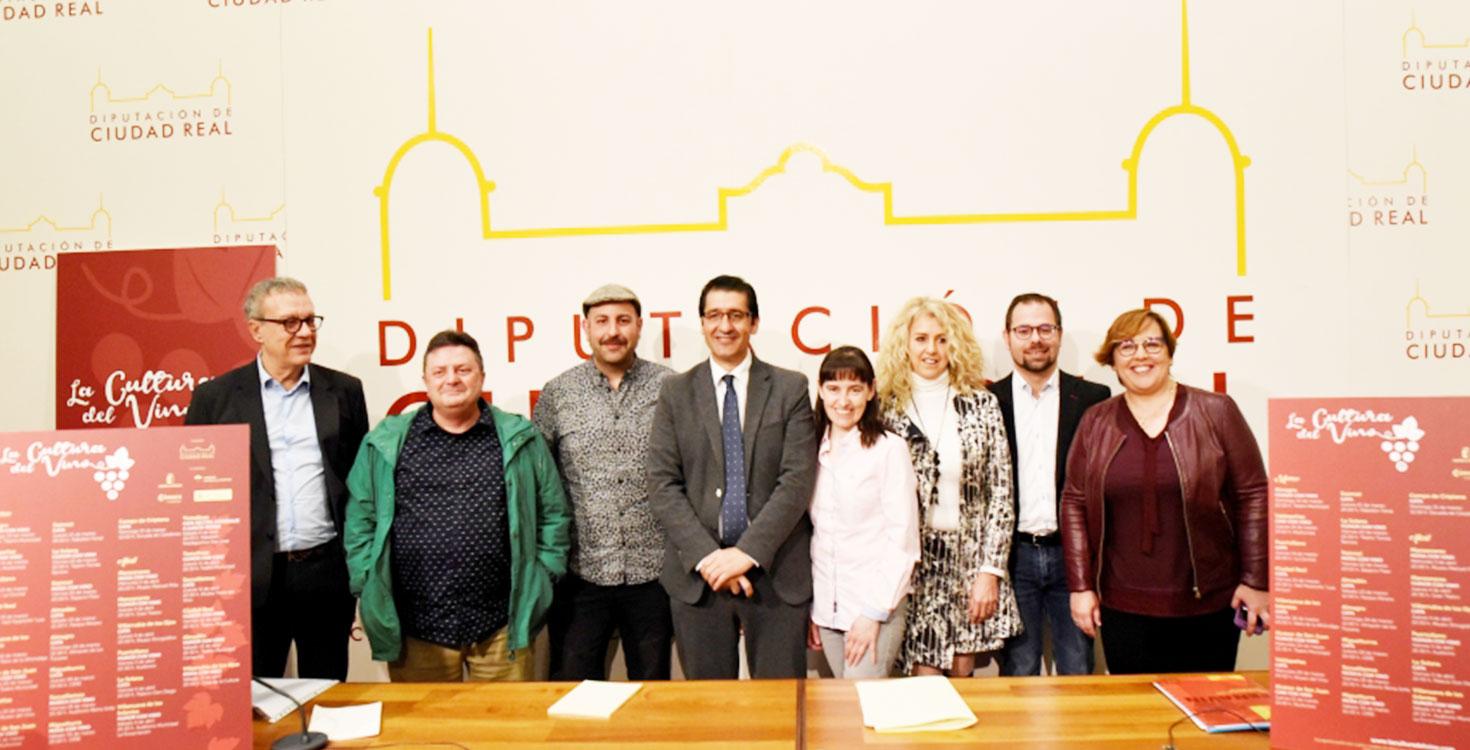 La Diputación llevará a quince pueblos de la provincia la cultura del vino para difundir su consumo moderado entre los jóvenes y las mujeres