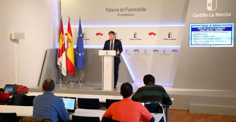 El Gobierno de Castilla-La Mancha refuerza su compromiso y apuesta por la Sanidad pública y los profesionales que trabajan en ella