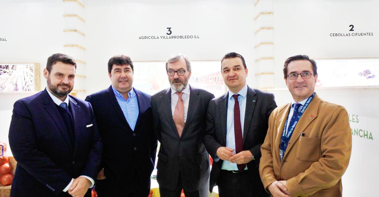 """El sector agroalimentario de la región es cada vez más """"potente"""" y representa ya el 35 por ciento del valor de las exportaciones de Castilla-La Mancha"""