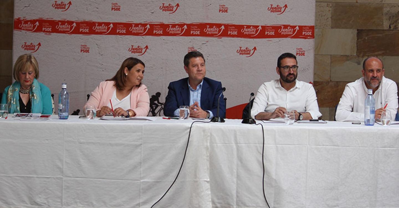 Bellido, Navarrete y Godoy, propuestos por la Ejecutiva regional del PSOE para la Mesa de las Cortes de Castilla-La Mancha