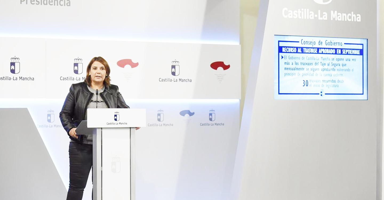 El Gobierno regional recurre el trasvase de 20 hm3 para el mes de septiembre y planteará mañana al Ministerio la modificación de las reglas de explotación
