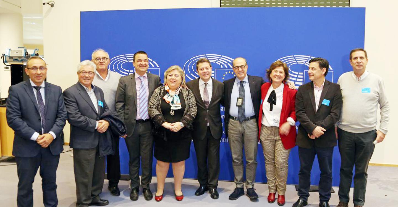 García-Page defiende en Bruselas la posición del sector agrícola y ganadero para garantizar el blindaje del presupuesto de la PAC