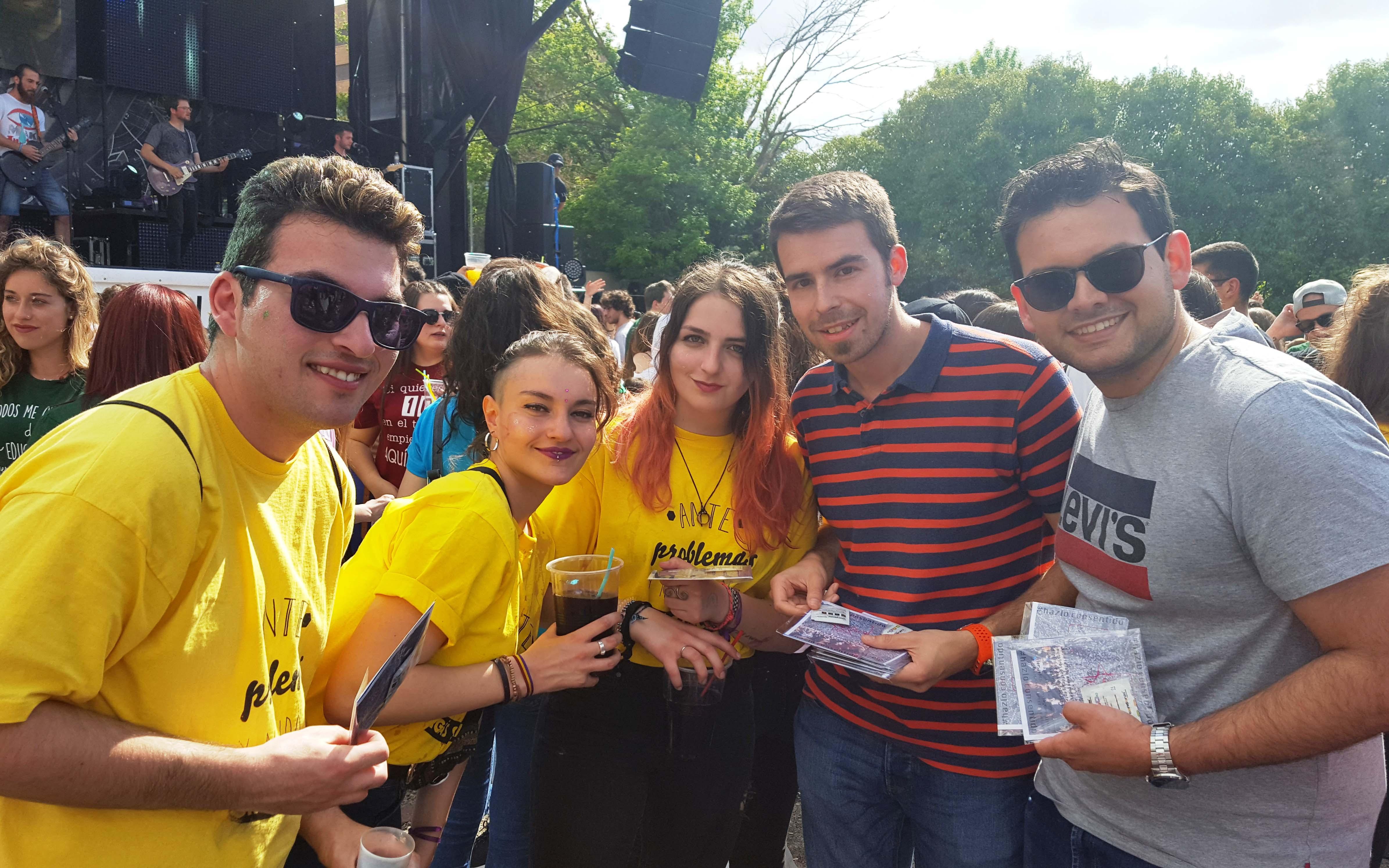 Juventudes Socialistas de Cuenca promueve entre los jóvenes concienciación sobre las agresiones sexuales