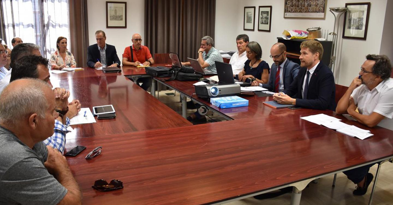El Gobierno de Castilla-La Mancha presenta los trabajos de campo de las Líneas Límite de Talavera con sus 10 municipios limítrofes