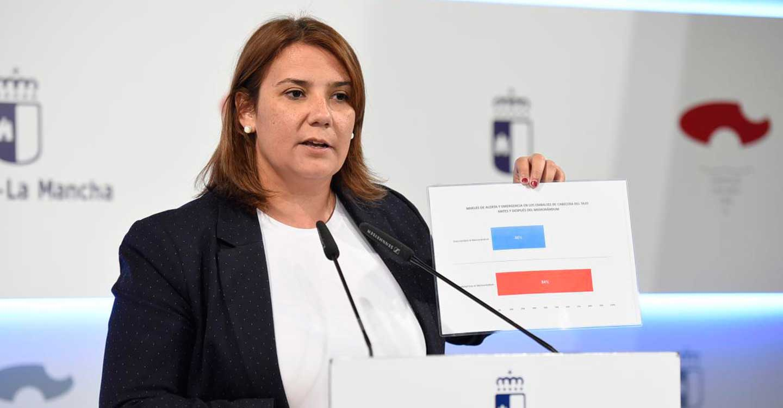 El Gobierno regional convocará la semana que viene al presidente del PP de Castilla-La Mancha para buscar soluciones al trasvase y mirando a la derogación del Memorándum