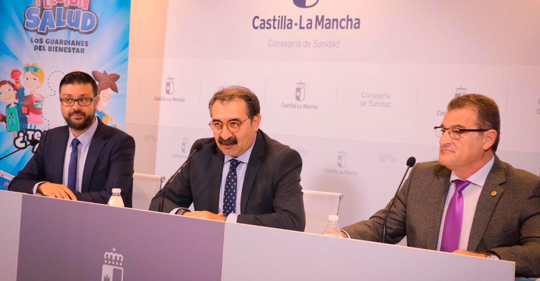 El Gobierno de Castilla-La Mancha y COFICAM lanzan una campaña para prevenir lesiones e inculcar hábitos saludables a los escolares