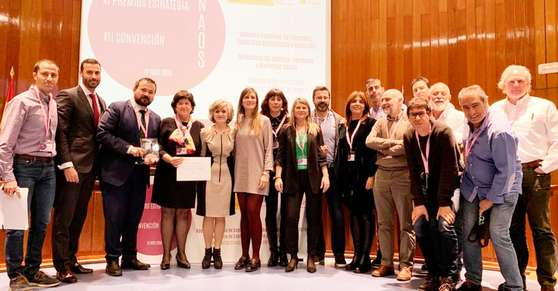 El Gobierno regional comparte con toda la comunidad educativa el premio NAOS recibido hoy por los Proyectos Escolares Saludables