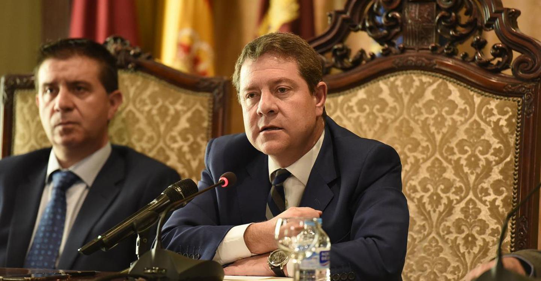 García-Page anuncia la organización de un espectáculo de luz y sonido para conmemorar el 40º Aniversario de la Constitución Española coincidiendo con la próxima Feria de Albacete