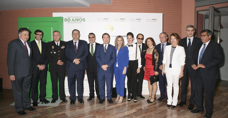 ONCE galardona la solidaridad de la sociedad castellanomanchega