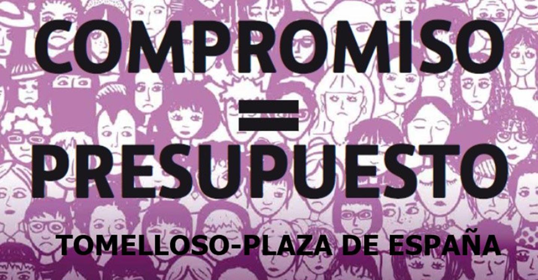 """Por """"incumplimiento del Pacto de Estado contra la Violencia de Género"""" las Trece Rosas convocan una concentración hoy en Tomelloso"""