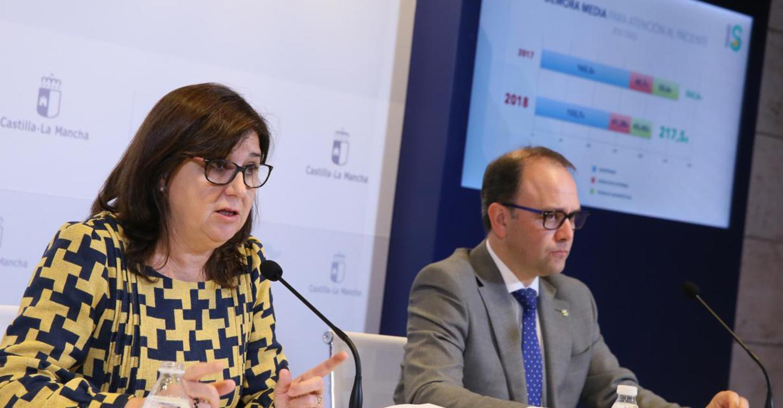 El Gobierno de Castilla-La Mancha sitúa las listas de espera por debajo de los 90.000 pacientes y continua bajando las demoras medias