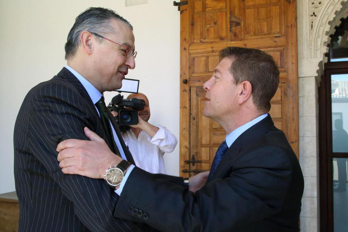 García-Page traslada su apoyo a la candidatura de Pau Roca como director general de la OIV