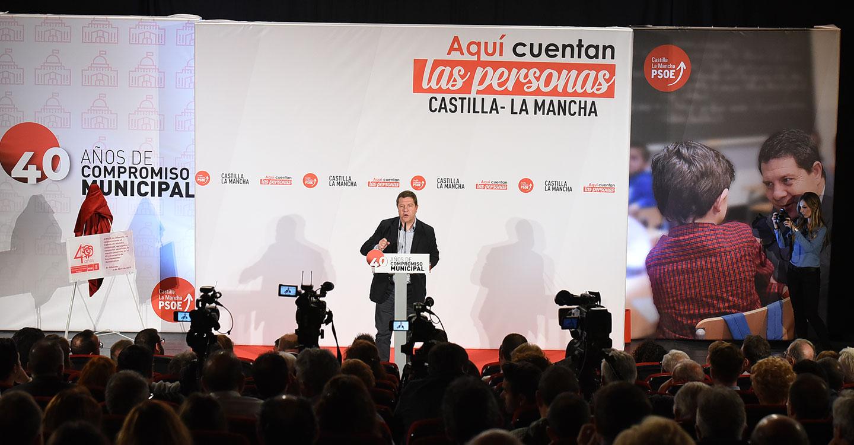 """García-Page: """"Castilla-La Mancha ha ganado una de las principales batalla del agua"""""""