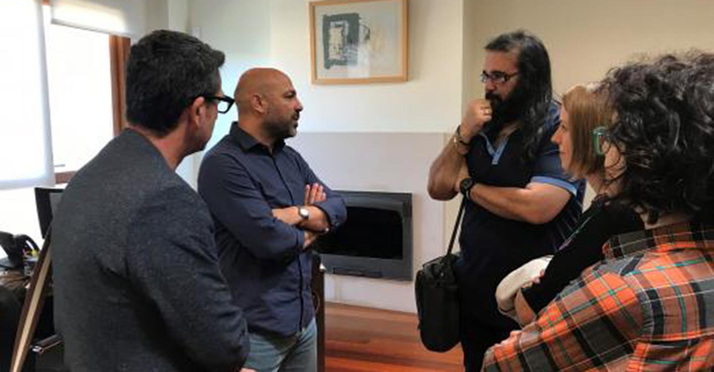 El vicepresidente segundo se reúne con la Asociación de Productores Audiovisuales de Castilla-La Mancha