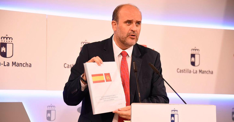 """El Gobierno de Castilla-La Mancha estará """"vigilante"""" para que los PGE recojan los compromisos asumidos por el Ejecutivo central"""