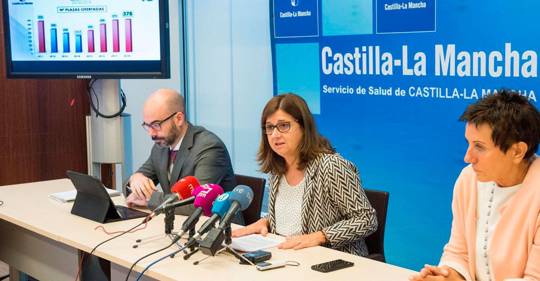 Castilla-La Mancha es la comunidad autónoma con mayor incremento porcentual en la oferta de plazas de formación sanitaria especializada