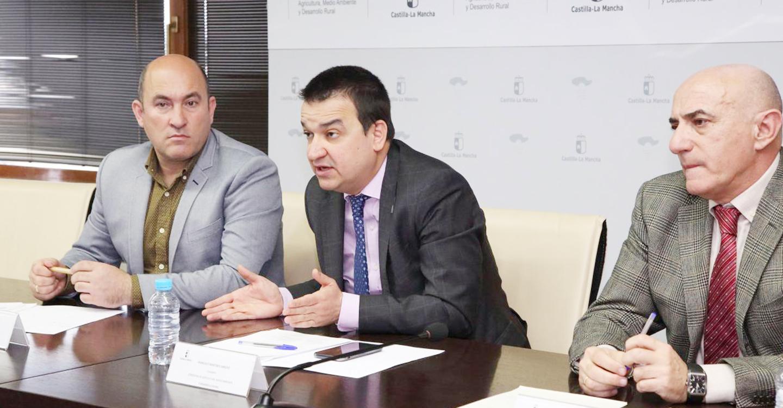 """El Gobierno regional impulsa una Federación de Regantes de Castilla-La Mancha """"robusta"""" que se constituirá en los próximos meses"""