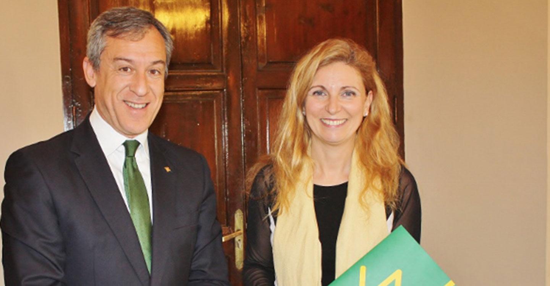 Eurocaja Rural traslada al Ayuntamiento de Castellón su implicación y vocación de servicio