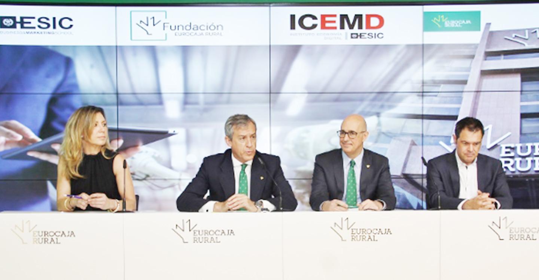 Fundación Eurocaja Rural y ESIC lanzan un programa formativo innovador de transformación digital