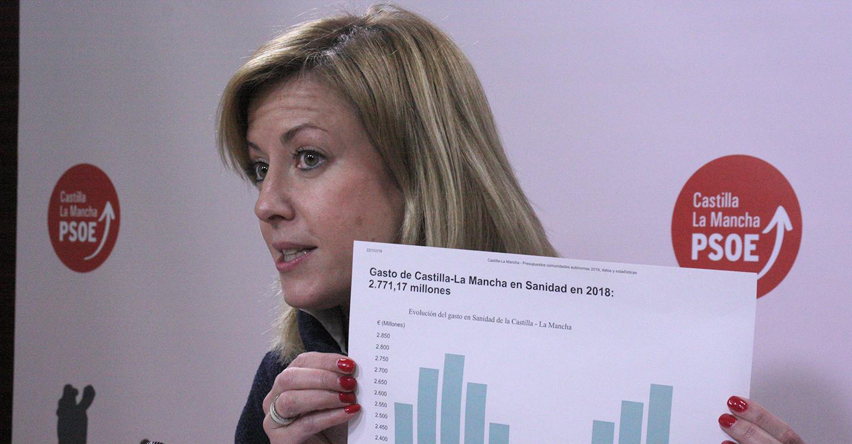 """""""Los datos oficiales demuestran que el gobierno de García-Page invierte mucho más en la sanidad pública que lo que invertía el de Cospedal y Núñez"""""""