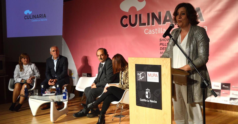 Patricia Franco inaugura la primera edición de Culinaria
