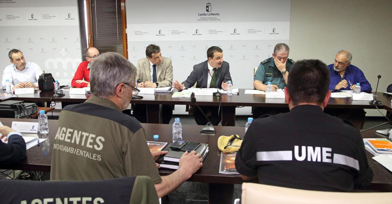 El número de incendios forestales en Castilla-La Mancha se ha reducido en lo que va de año un 44 por ciento respecto al año anterior
