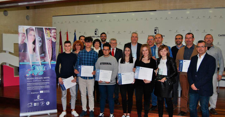 El Gobierno regional destaca y agradece el esfuerzo añadido de los centros educativos que participan en proyectos Erasmus+