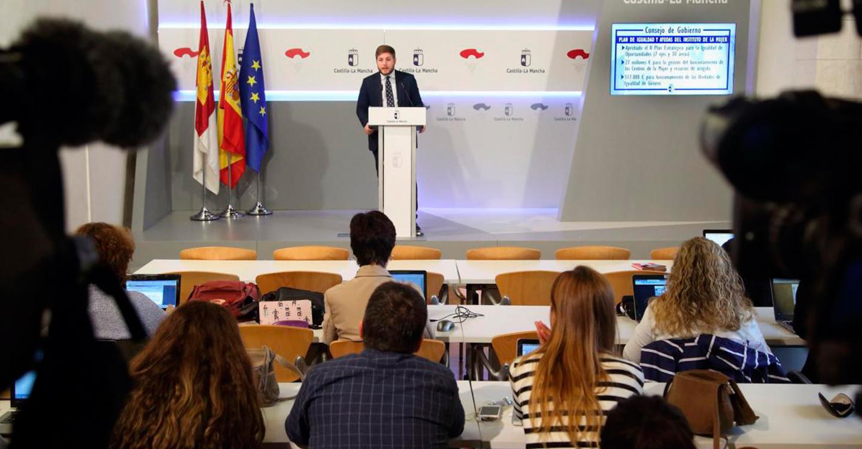 Castilla-La Mancha refuerza la dotación económica de centros de la mujer y recursos de acogida para mujeres víctimas de la violencia machista