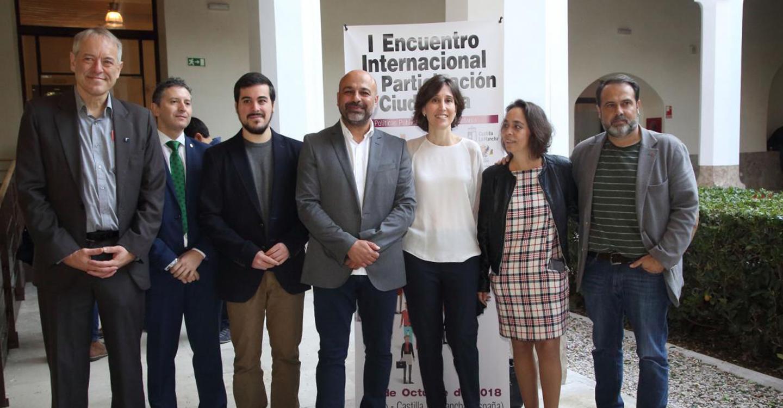 El I Encuentro Internacional de Participación Ciudadana de Castilla-La Mancha se celebra con aforo completo