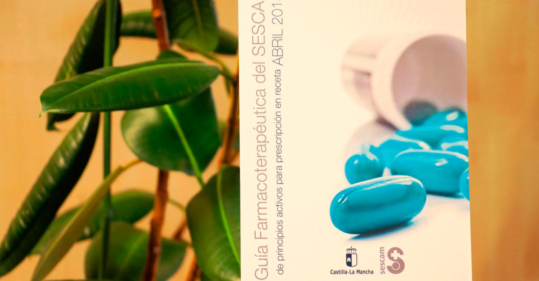 El SESCAM edita la cuarta edición de su Guía Farmacoterapéutica de principios activos para prescripción en receta