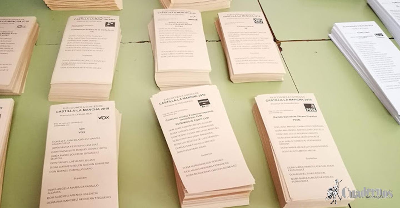 La participación a las 18:00, supera el 50% en estas elecciones en Castilla -La Mancha