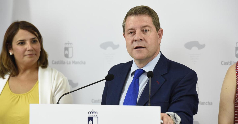 García-Page anuncia una inversión de 16 millones de euros para la mejora de once carreteras de la región a partir de este verano