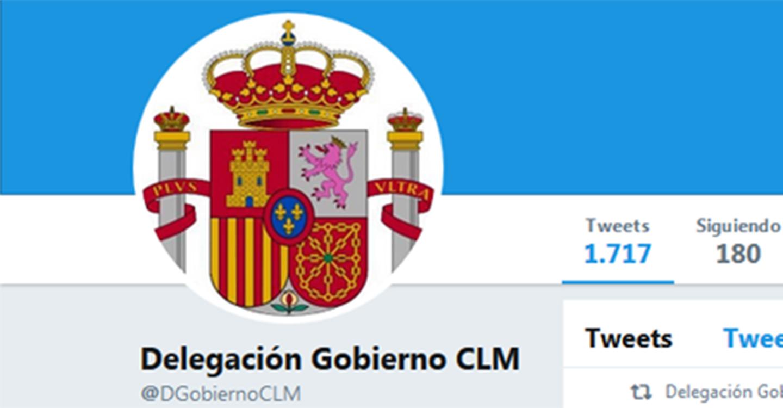 La Delegación del Gobierno en Castilla-La Mancha denuncia un uso indebido de su cuenta de twitter