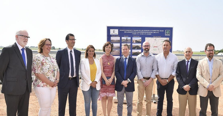 El Gobierno de Castilla-La Mancha anuncia el inicio del estudio para la conexión directa de Alcázar de San Juan con la A-43