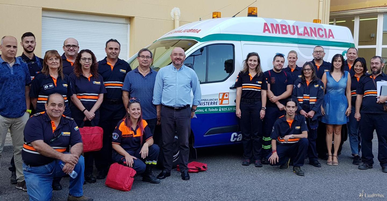 Un total de 45 voluntarios de Protección Civil se forman en los cursos de certificados de profesionalidad en atención y transporte sanitario