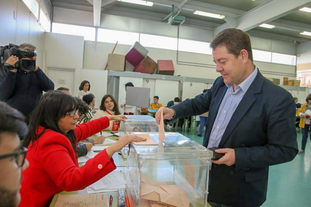 Con el 57% escrutado el PSOE gana las elecciones