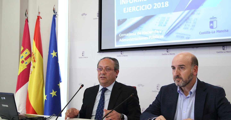 Castilla-La Mancha ha reducido un 75 por ciento el déficit desde el inicio de la legislatura y cumple el objetivo de 2018