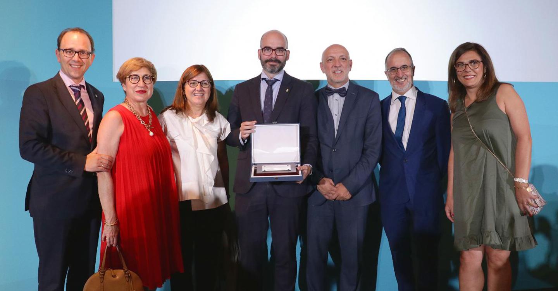 Íñigo Cortázar, galardonado como el mejor director general de Recursos Humanos del Sistema Nacional de Salud