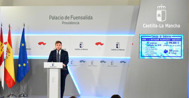 Un total de 41 proyectos de investigación paleontológica y arqueológica se beneficiaron en 2018 de las ayudas del Gobierno de Castilla-La Mancha