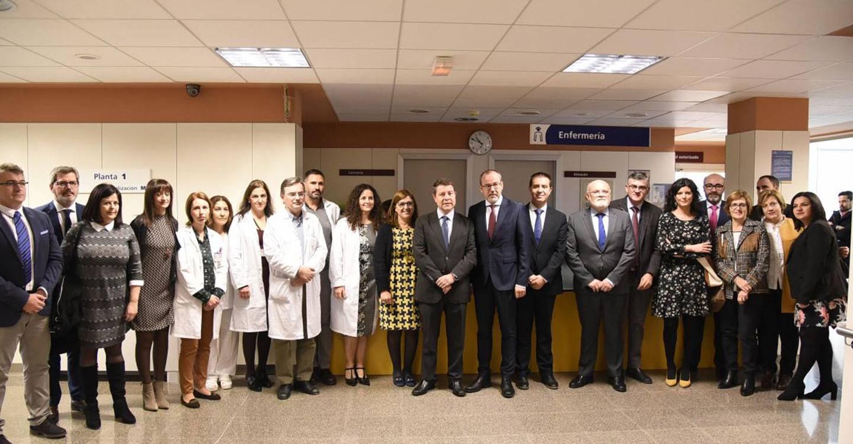 Tras la apertura de la planta del Hospital de Villarrobledo, el Gobierno regional licitará antes de final de año el concurso para la nueva resonancia magnética